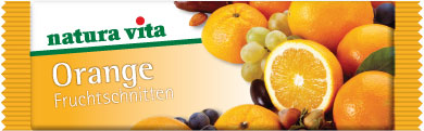 natura vita Fruchtschnitte Orange